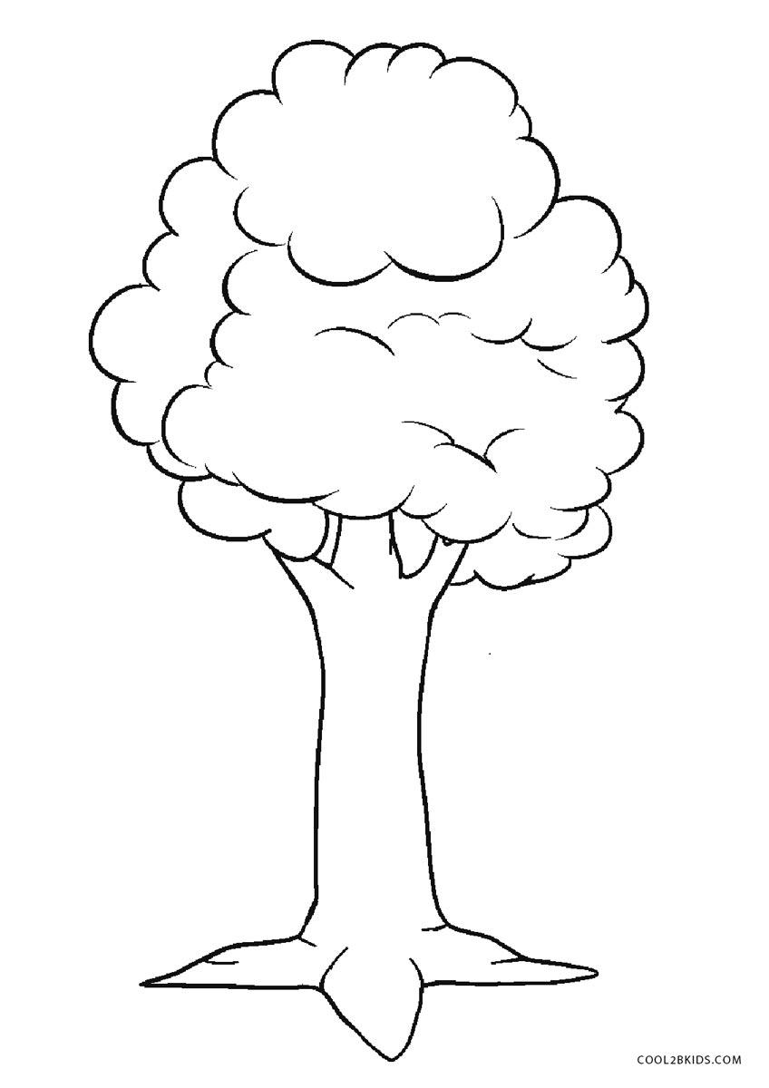 Ausmalbilder Baum - Malvorlagen kostenlos zum ausdrucken