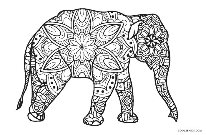 ausmalbilder elefant  malvorlagen kostenlos zum ausdrucken