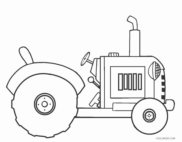 traktor ausmalbilder für kinder  malvorlagen kostenlose