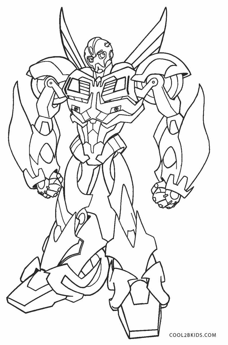 Ausmalbilder Transformers - Malvorlagen kostenlos zum ausdrucken