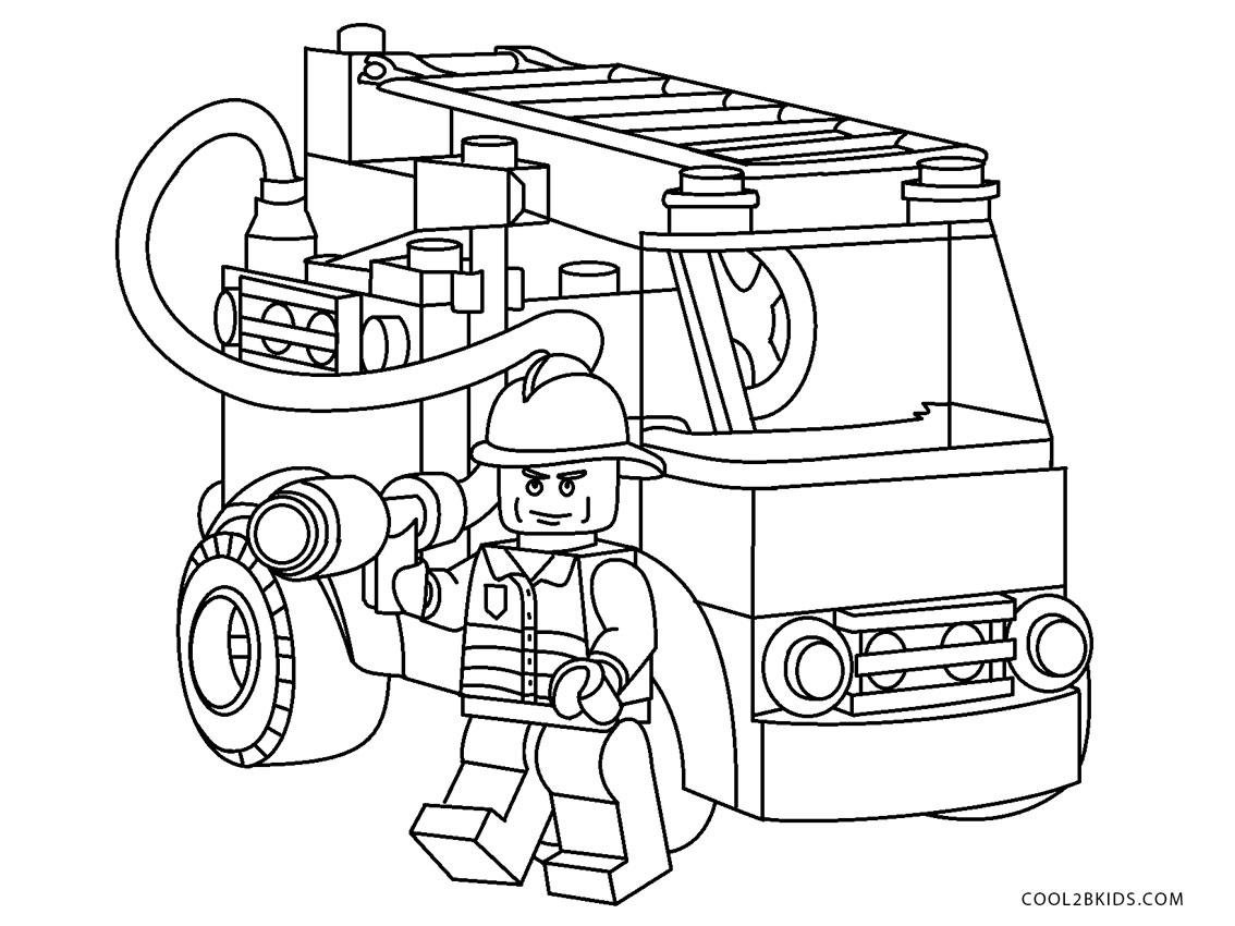 lego feuerwehr ausmalbilder zum ausdrucken  ausmalbilder