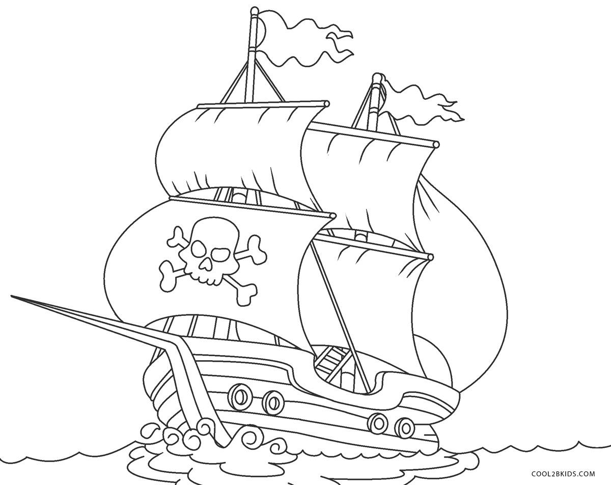 ausmalbilder piraten  malvorlagen kostenlos zum ausdrucken