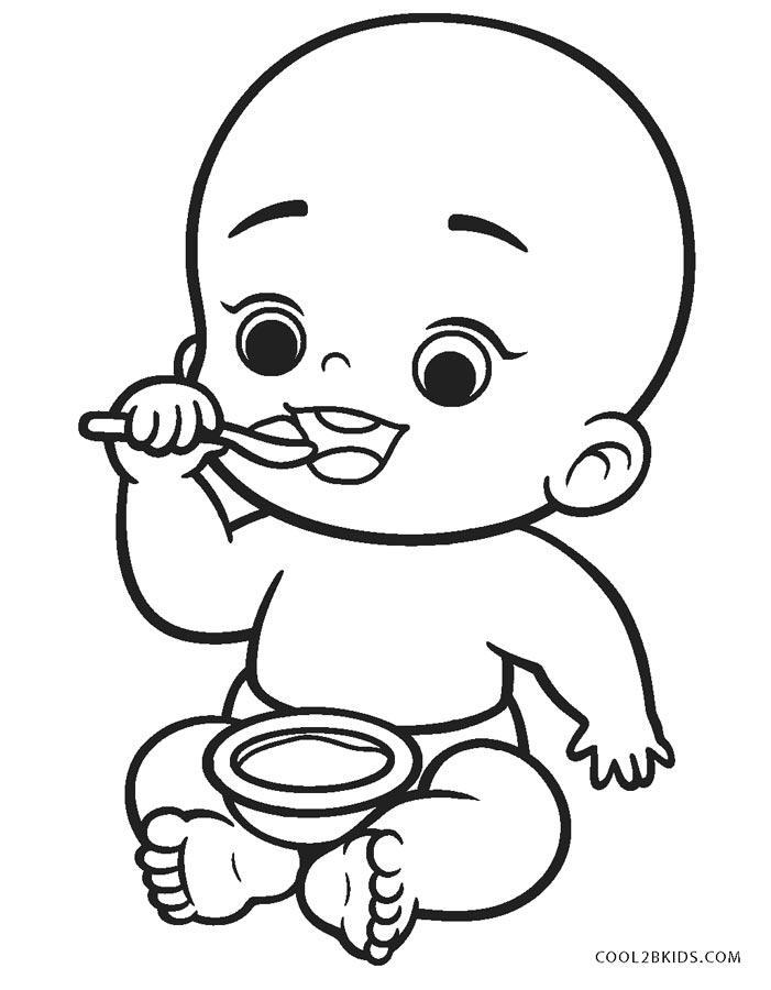 ausmalbilder baby  malvorlagen kostenlos zum ausdrucken