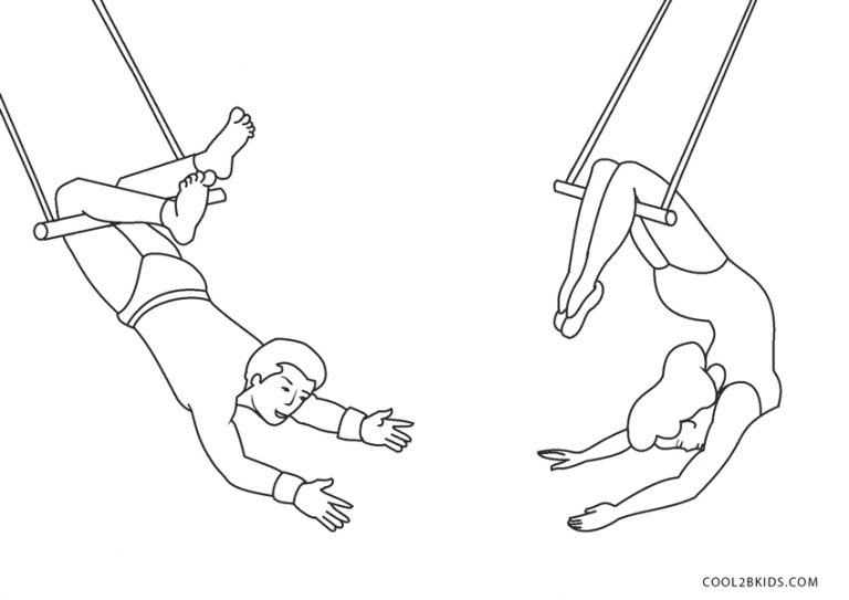ausmalbilder zirkus  malvorlagen kostenlos zum ausdrucken