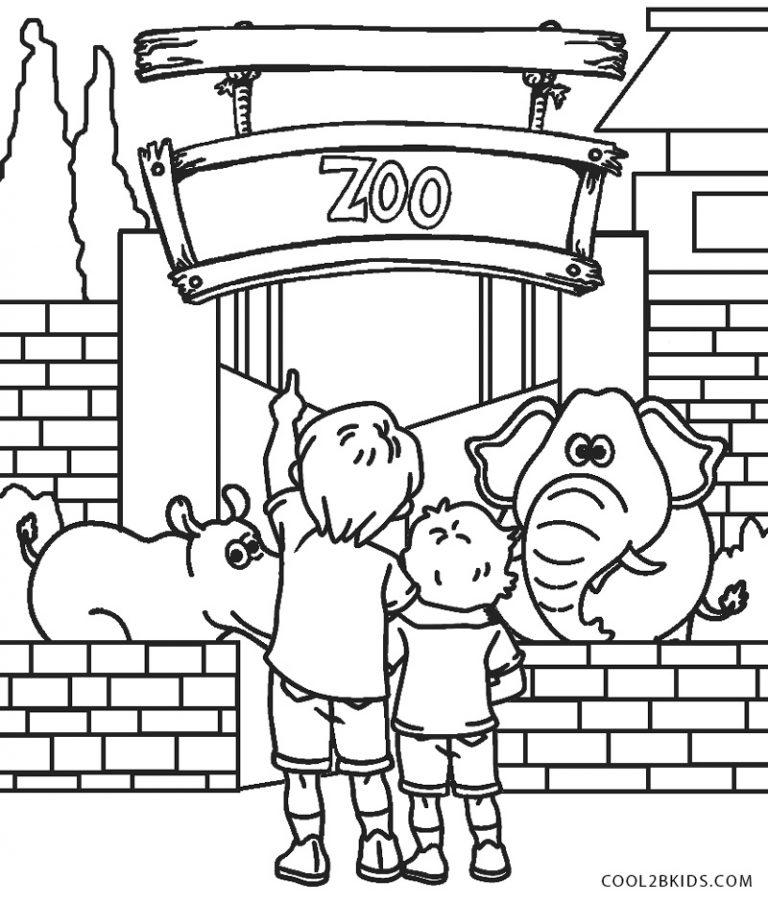 ausmalbilder zoo  malvorlagen kostenlos zum ausdrucken