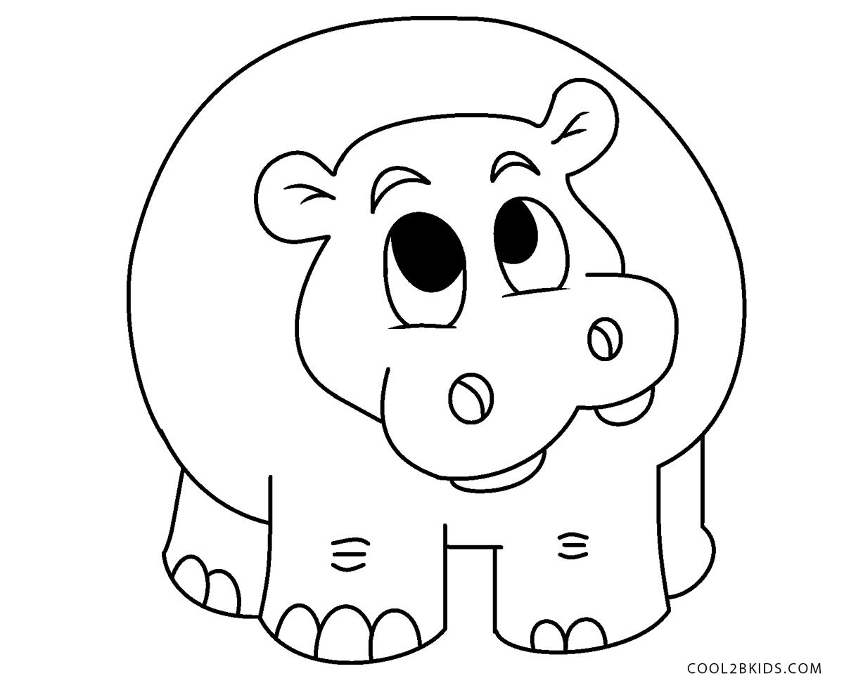Ausmalbilder Zoo - Malvorlagen kostenlos zum ausdrucken